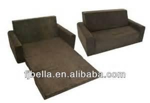 flip sofa foam folding sofa bed chocolate