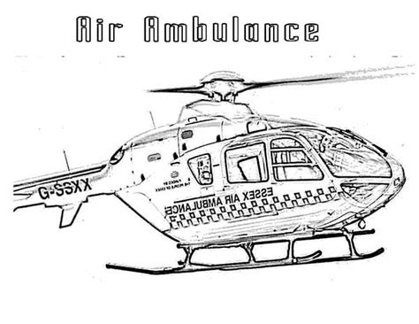 medical helicopter coloring page air ambulance colouring pages sketch coloring page