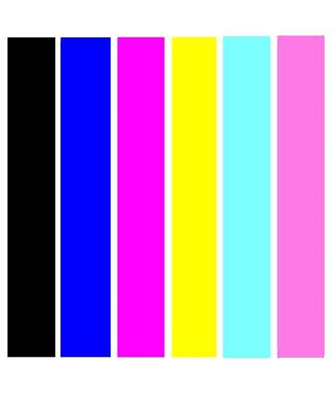 Coloring Pages Color Print Test Black Cyan Magenta