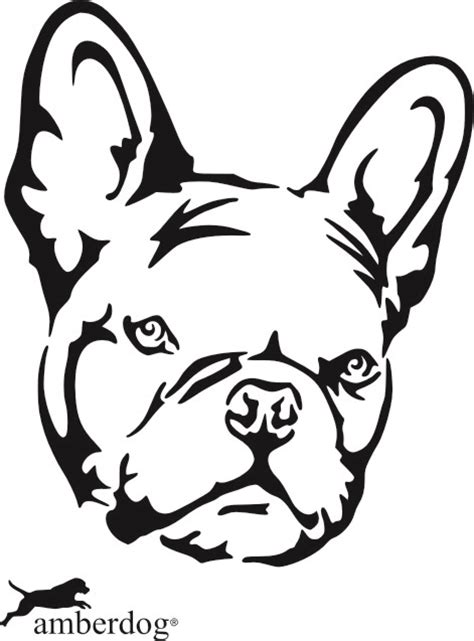Heckscheibenaufkleber Bulldogge by Petfoodshop Franz 246 Sische Bulldogge Kopf Sticker