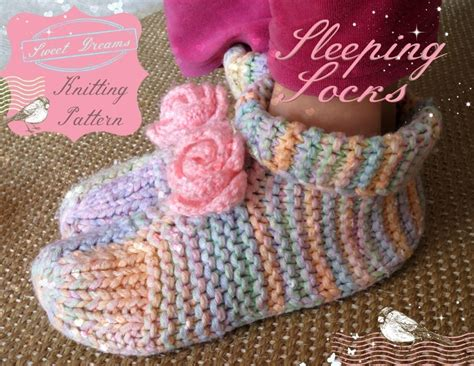 knitted bed socks free patterns sleep socks knitting pattern