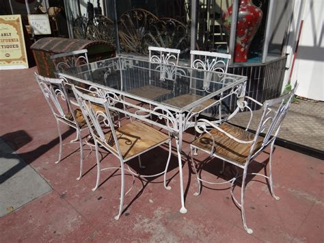 vintage metal patio furniture ideas all home decorations