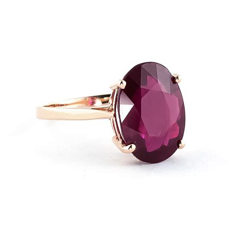 Ruby 8 5ct oval cut ruby ring 7 5ct in 9ct gold 4171r qp