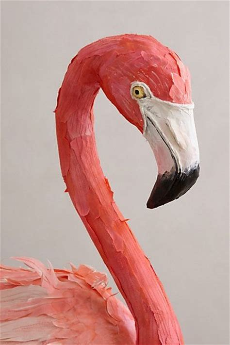 How To Make A Flamingo Out Of Paper - 1000 ideas about paper birds on bird template