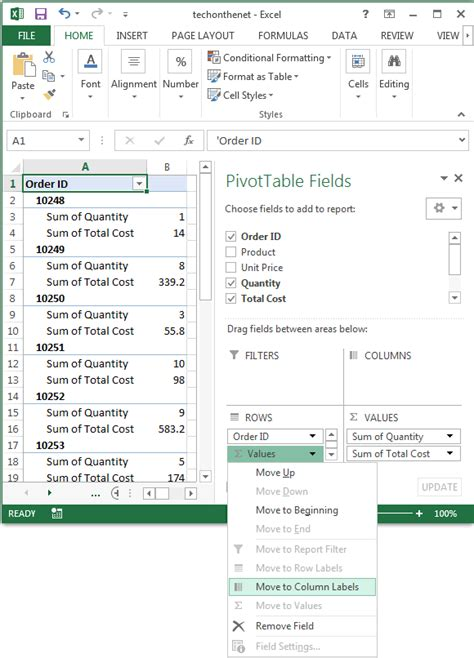 excel 2010 olap cube tutorial pivot table multiple data sources excel 2013 ms excel