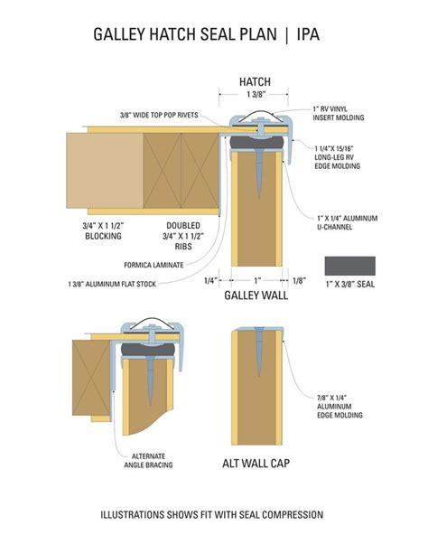 teardrop trailer floor plans hatch seal plan teardrop build pinterest teardrop