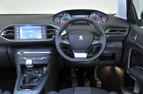 peugeot car interior peugeot 308 review 2017 autocar