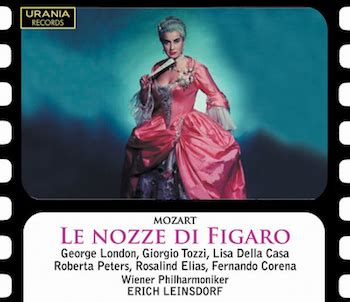 Best Recording Of Marriage Of Figaro Opera Today Urania Remasters Marriage Of Figaro