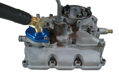 ford 6 0 oil cooler 6 0 powerstroke oil cooler flush kit accurate diesel