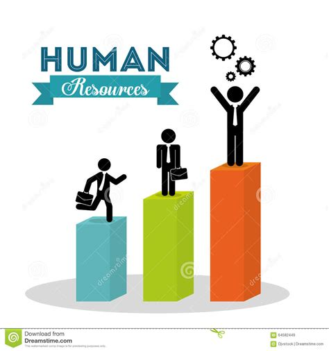 design resources human resources design stock vector image 64582449