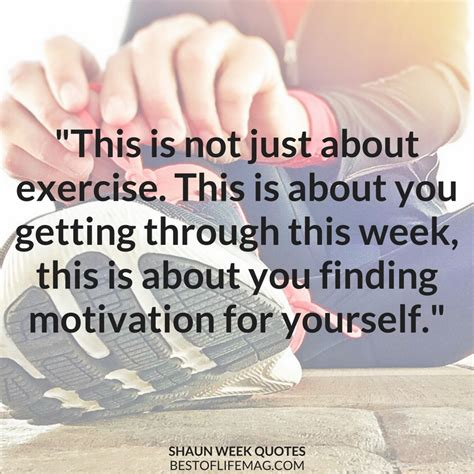 workout motivation quotes shaun week quotes for workout motivation best of