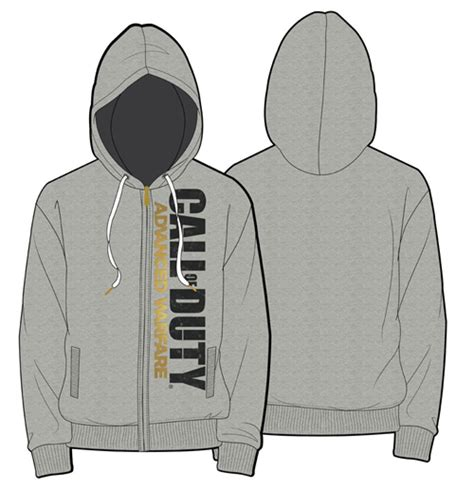 Jaket Sweater Hoodie Zipper Call Of Duty Black Ops King 2 call of duty advanced warfare hooded sweater vertical logo for only 163 52 65 at merchandisingplaza uk