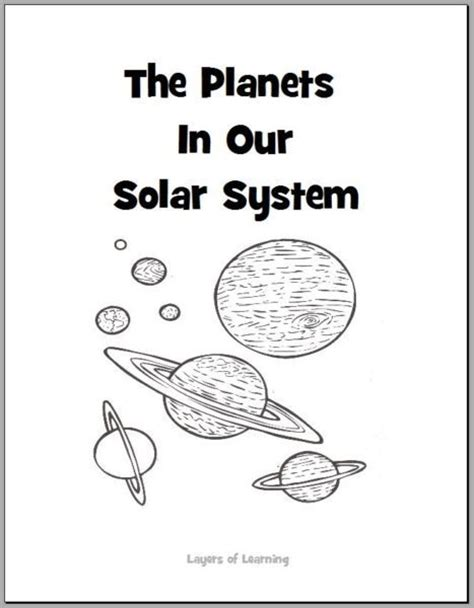 printable color planets solar system page 4 pics about