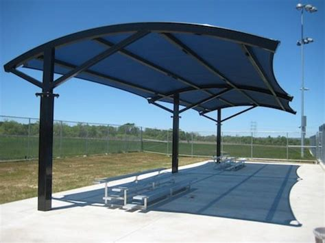 large awnings shade canopies tension membranes