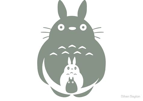 Gifts For Home Decor by Quot O Totoro Chu Totoro Chibi Totoro Quot By Ethan Bayton