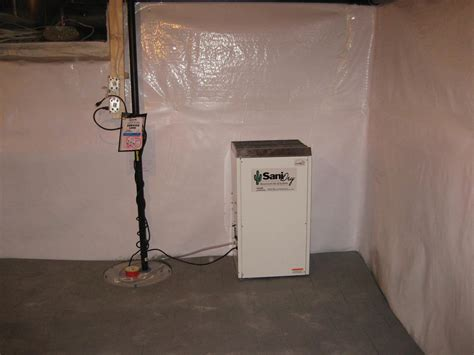 sanidry basement air system sanidry dehumidifier and air filtration unit