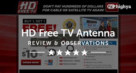 Hd Tv Free Antenna hd free tv antenna reviews is it a scam or legit