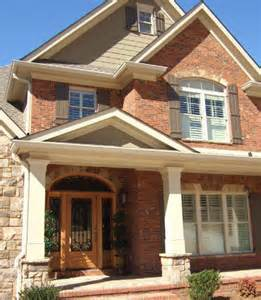 exterior house colors with brick brick siding ideas exterior house colors with orange