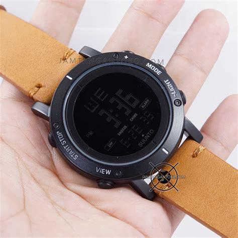 Coklat Muda harga sarap jam tangan suunto essential hitam coklat muda
