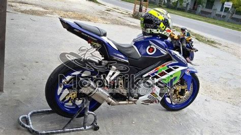 Lu Led New Vixion Lightning modifikasi yamaha new vixion lightning half fairing movistar terbaru modifikasi co id