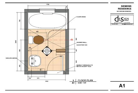shower floor plans highdesign gallery derek siemens krebs design