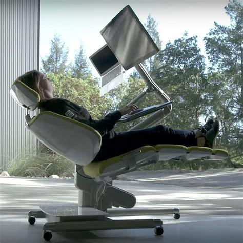 Reclining Desk by Reclining Office Desk Popsugar Tech
