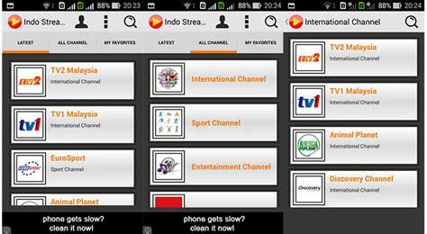 Tv Android Di Indonesia 5 aplikasi android gratis untuk tv anime