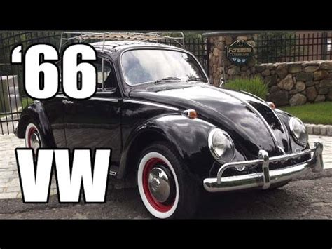 Black Volkswagen Beetle For Sale by Classic Vw Bugs 1966 Vintage Black Volkswagen Beetle Sedan