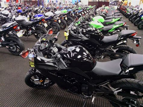 Kawasaki Motorcycle Dealership kawasaki motorcycle dealer los angeles bert s mega mall