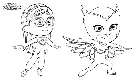 coloring pages pj masks 35 unique pj masks coloring pages