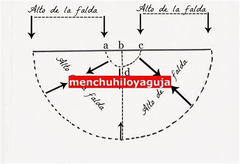 como hacer un caso practico gratis ensayos patrones de costura patron falda de flamenca