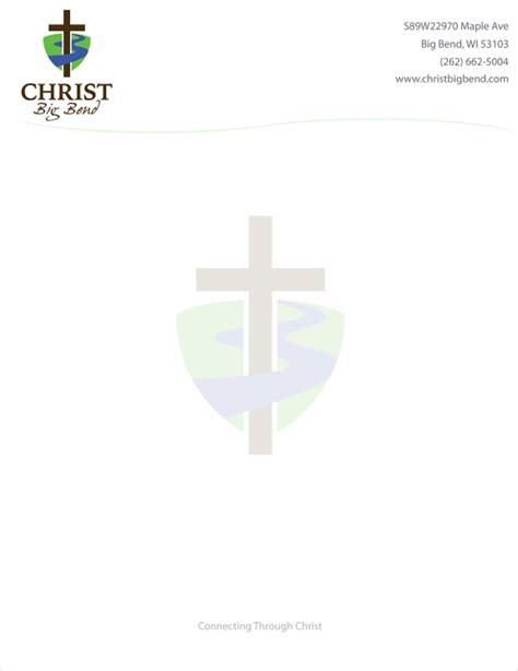 church letterhead template 13 free psd eps ai