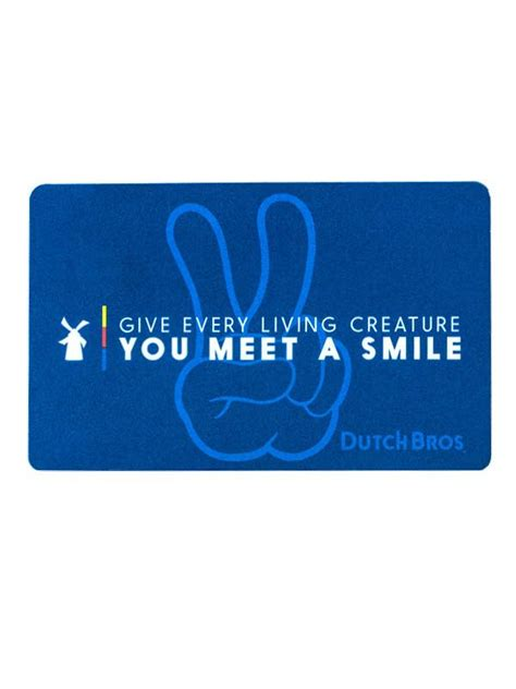 dutch bros coffee gift cards dutchwear - Dutch Bros Gift Card Sale