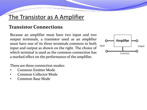 transistor lifier ppt transistor lifier ppt presentation 28 images ppt practical electricity powerpoint