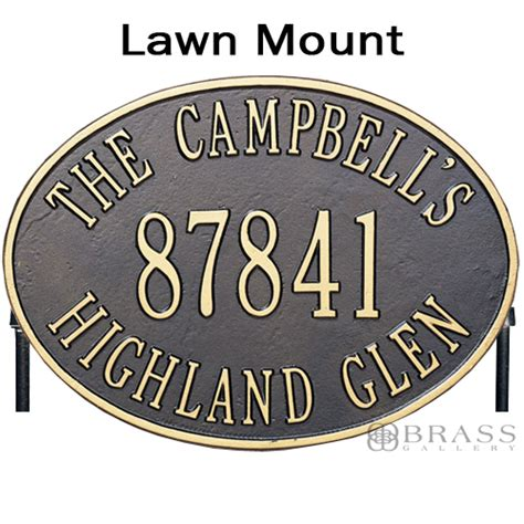 house address signs cast aluminum address plaques house number signs 2017 2018 cars reviews