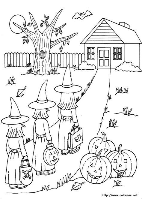 imagenes halloween pdf dibujos para colorear de halloween