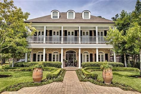 southern colonial house southern colonial in houston texas luxury homes