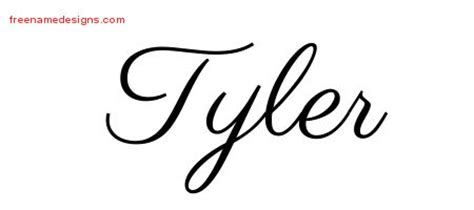 tyler archives free name designs