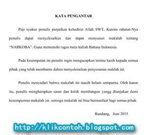 cara membuat kata pengantar narkoba contoh kata pengantar makalah bahasa indonesia yang baik