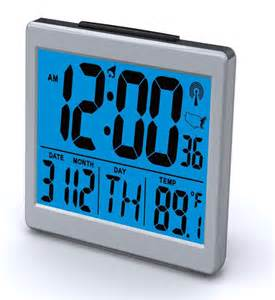 bedroom alarm clock atomic desk bedroom alarm clock 1 5 quot time number back