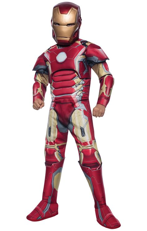 avengers age ultron deluxe iron man mark costume
