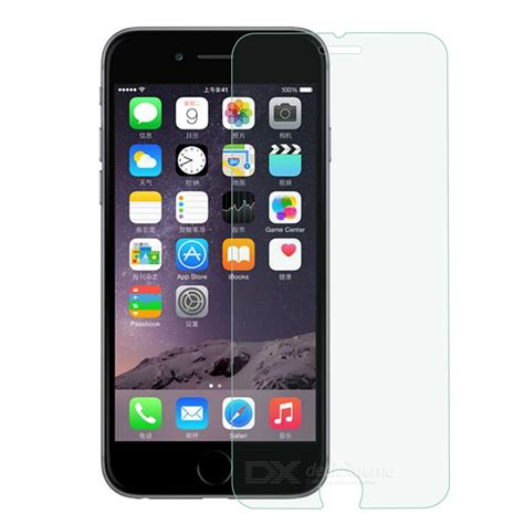 Tempered Glass Iphone 6 4 7 Clear protective 2 5d tempered glass clear screen guard