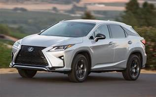 Lexus Rx 350 F 2016 Lexus Rx 350 And Rx 450h New Look And Feel For The