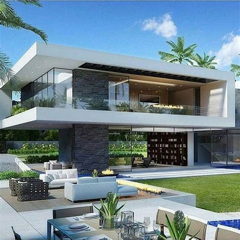 Modern Luxury House Exterior Modern arquitetura cool contemporary decor architecturelovers