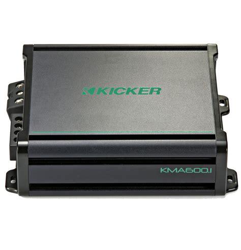 kicker boat kicker 45kma6001 marine audio boat lifier 1 channel