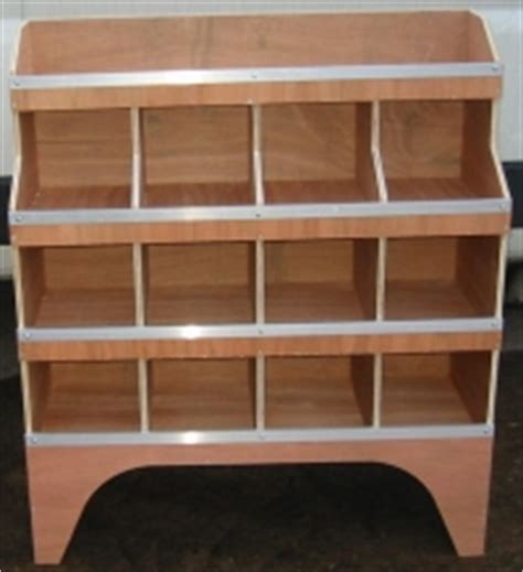 plywood shelving racking pigeon system ply