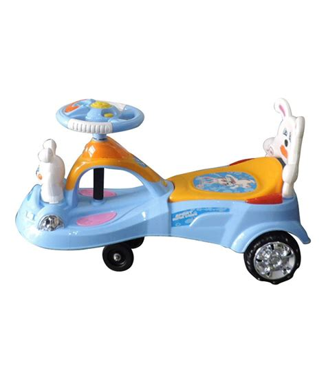 magic swing brunte blue magic swing car for kids buy brunte blue