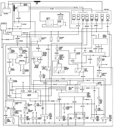 toyota pickup wiring diagram electrical website kanriinfo