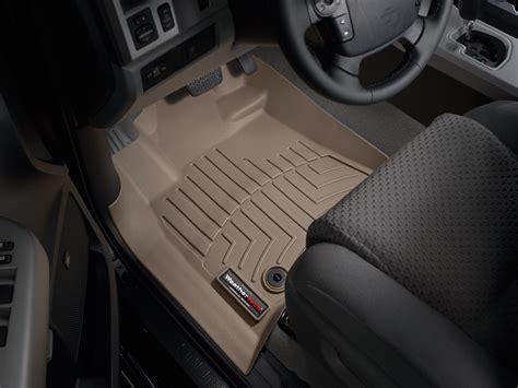 weathertech floor mats floorliner for toyota tundra 2012