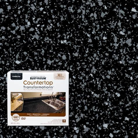 Countertop Transformation Kits by Rust Oleum Countertop Transformations Kit Charcoal Price